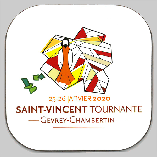 Saint Vincent Tournante Gevrey Chambertin 2020 - Sous verre